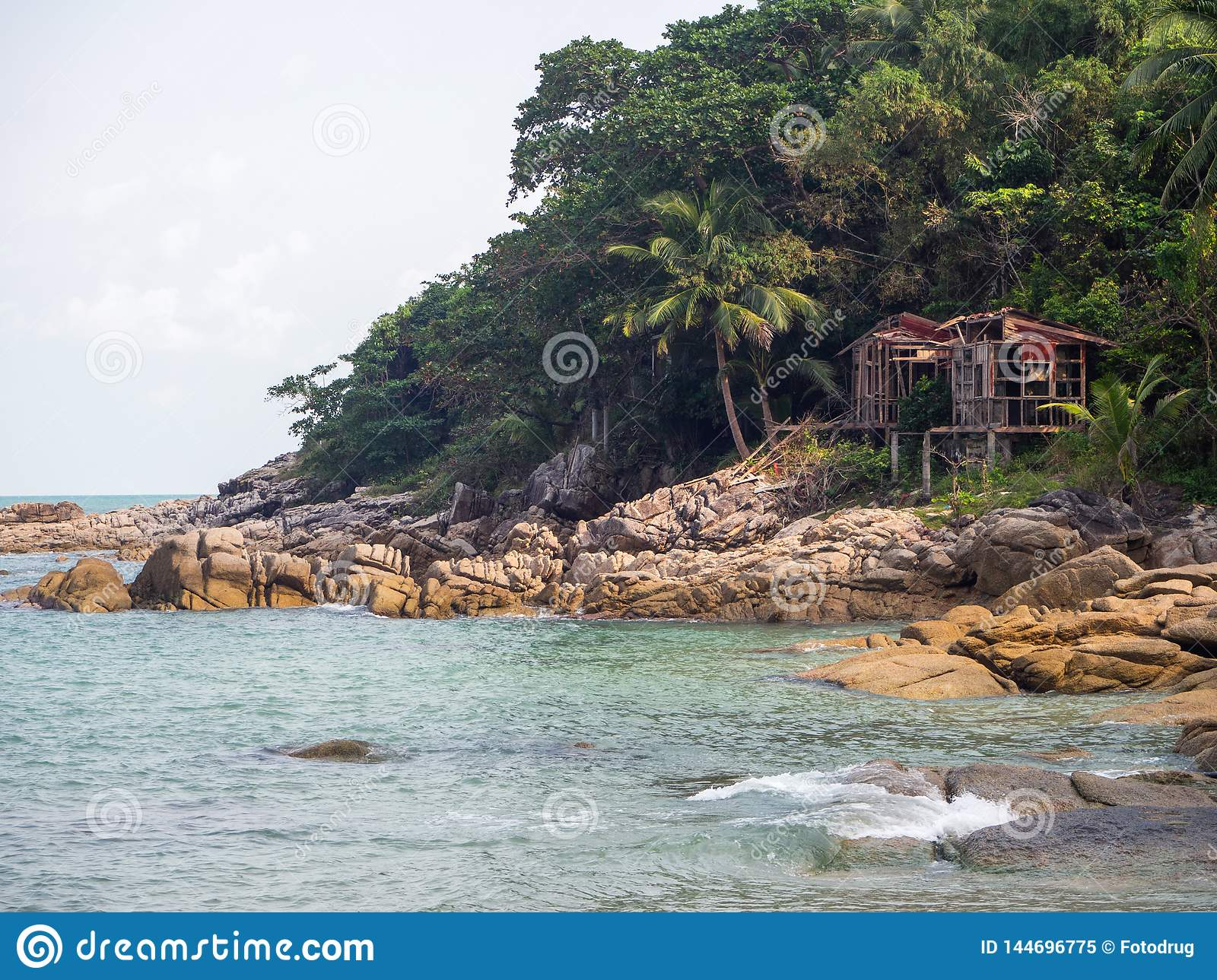 Beautiful pictures on the island of Phangan