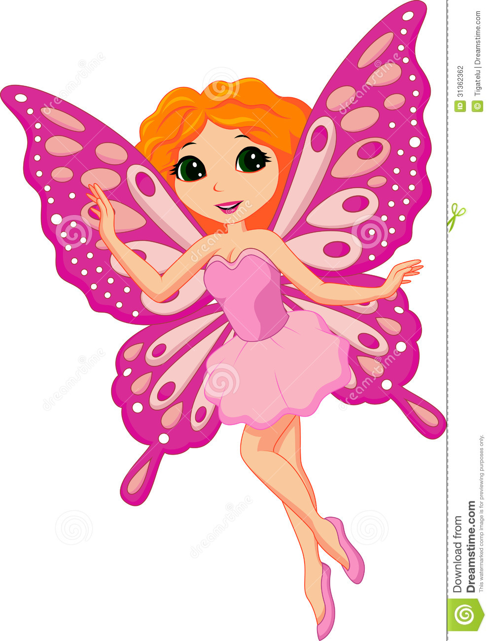 beautiful pink fairy cartoon stock vector illustration free fairy clipart images free tooth fairy clipart images