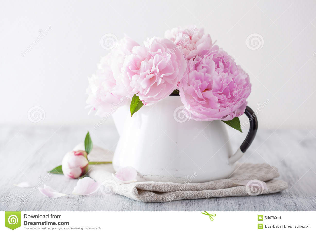 Beautiful pink peony flowers bouquet in vase stock photo image of beautiful pink peony flowers bouquet in vase izmirmasajfo Images