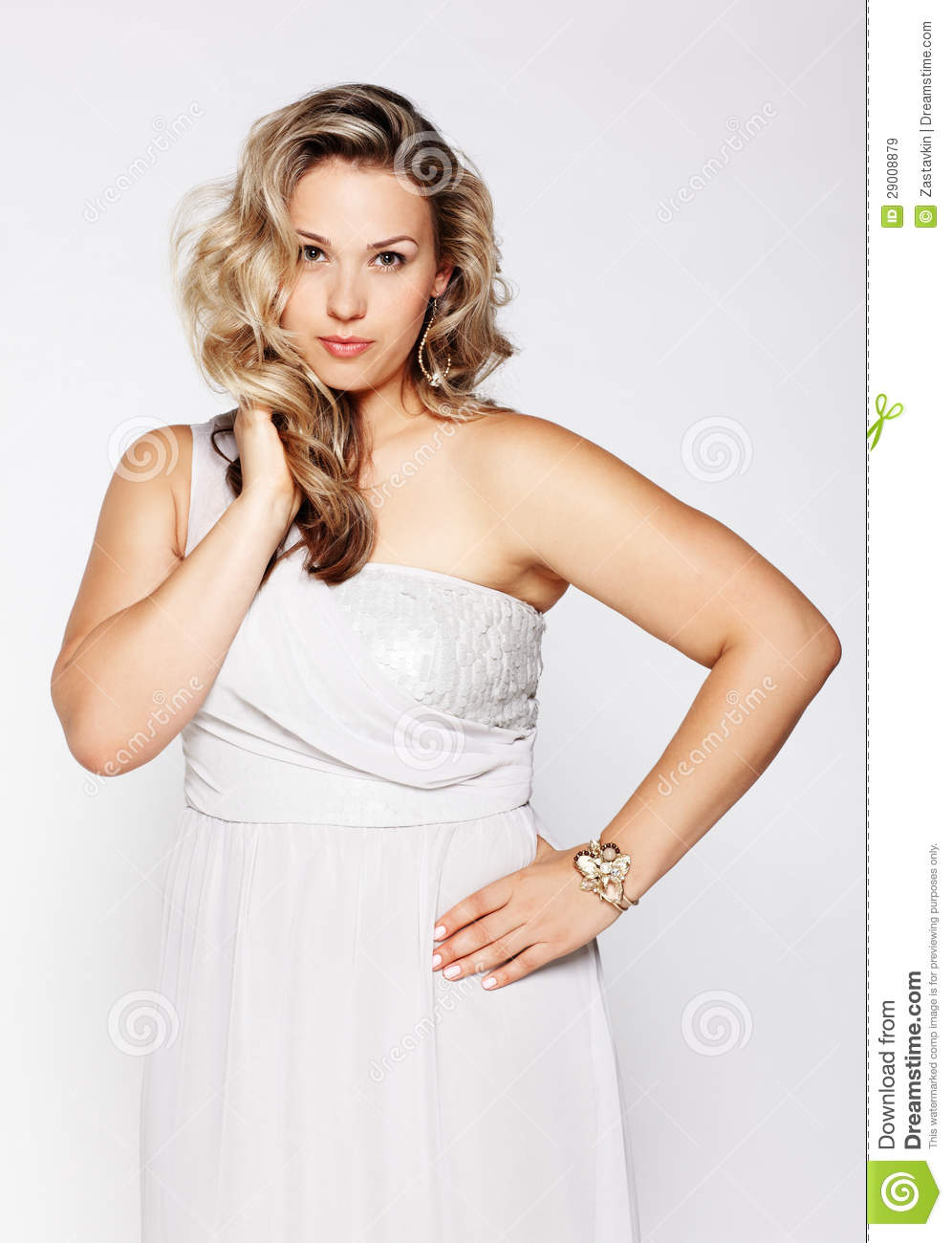 Beautiful Plus Size Woman Royalty Free Stock Images ...