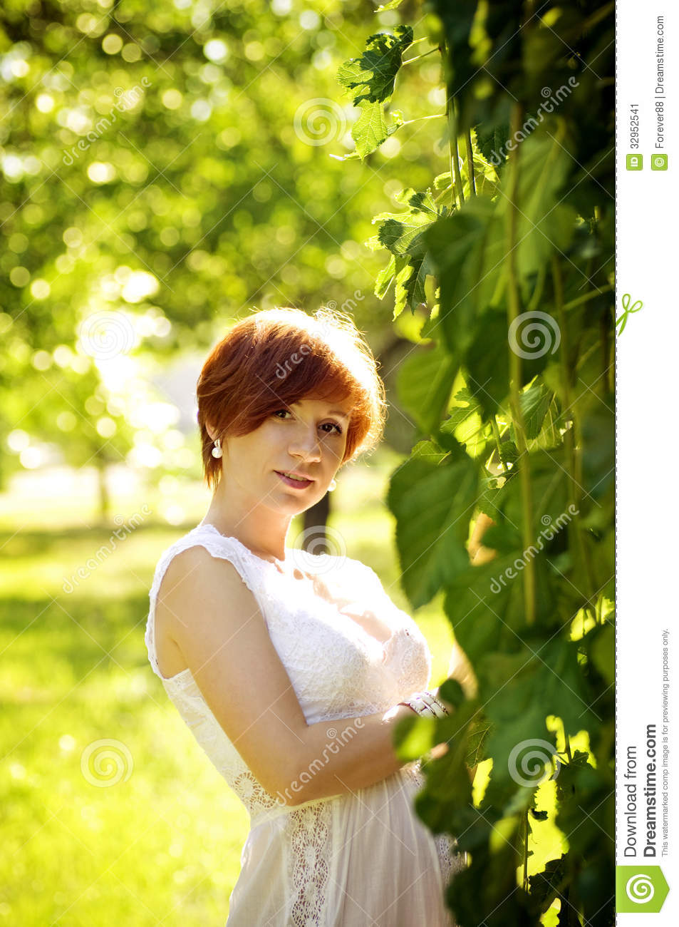 Beautiful pregnant woman stock image image 32952541 for Gardening while pregnant