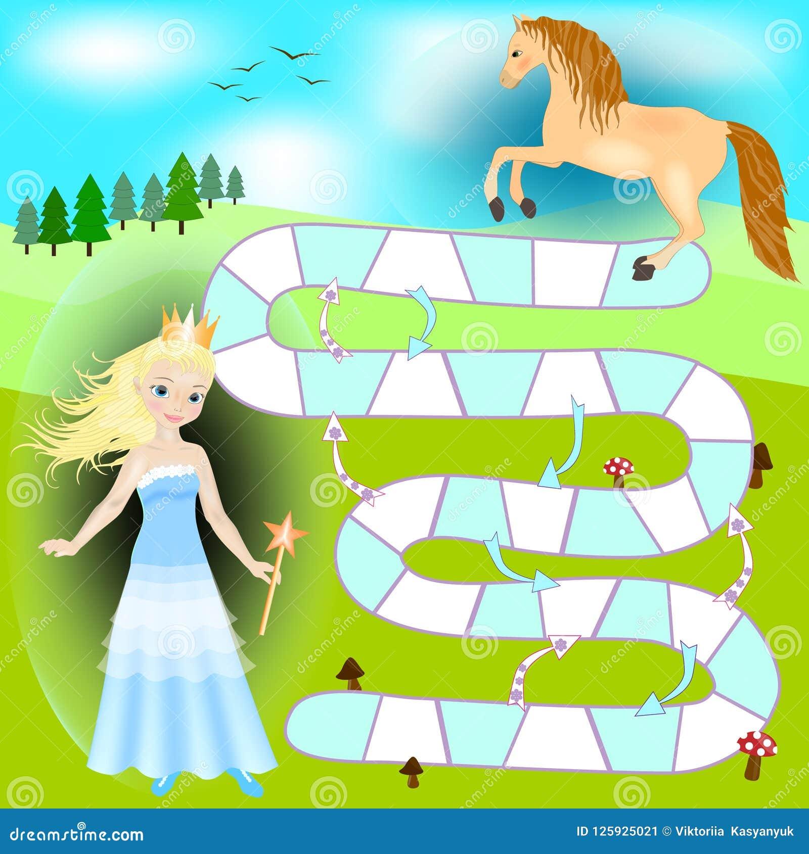 Pony (vector Clip-art) Cartoon Vector | CartoonDealer.com ...