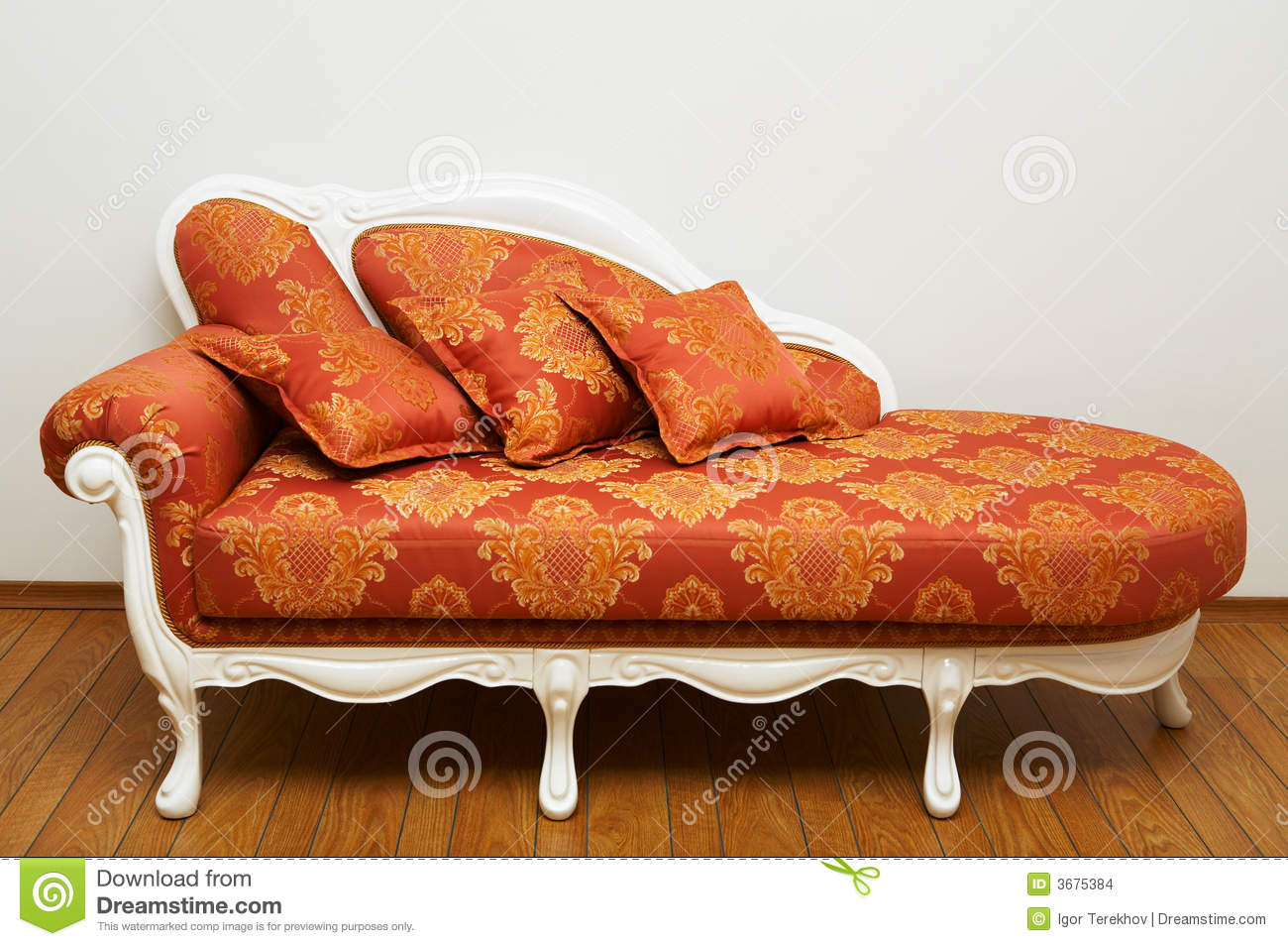 beautiful red sofa stock images - image: 3675384