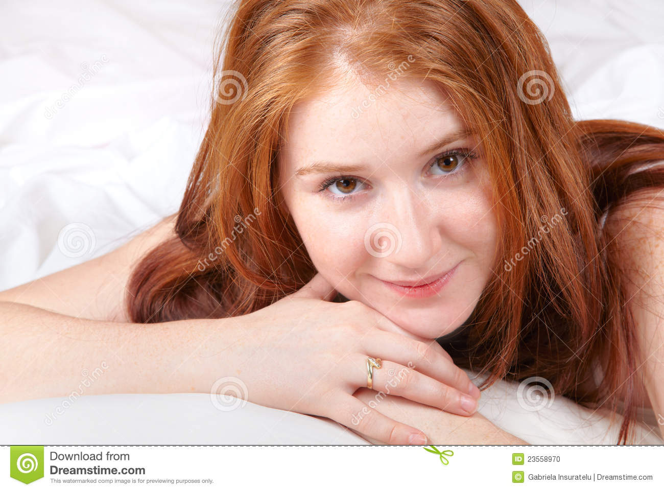 Magnificent words redhead in the bed remarkable, very