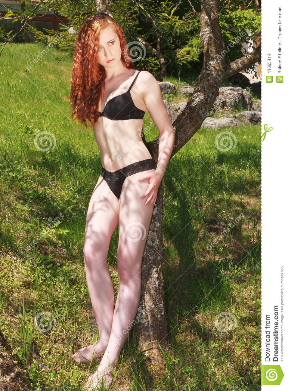 Young whores redhead woman posing dream
