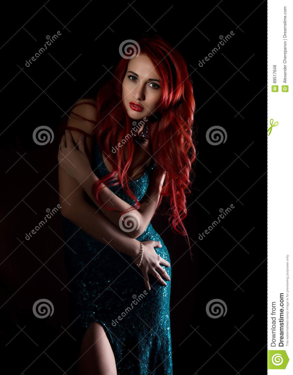 redhead perfect tit with Sexy