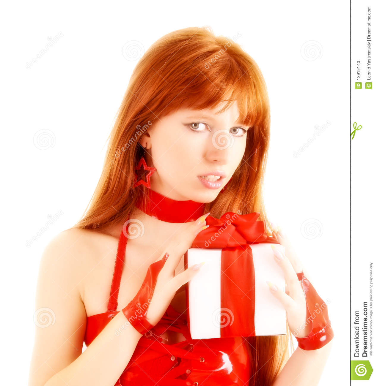 Best present Hairy redhed women