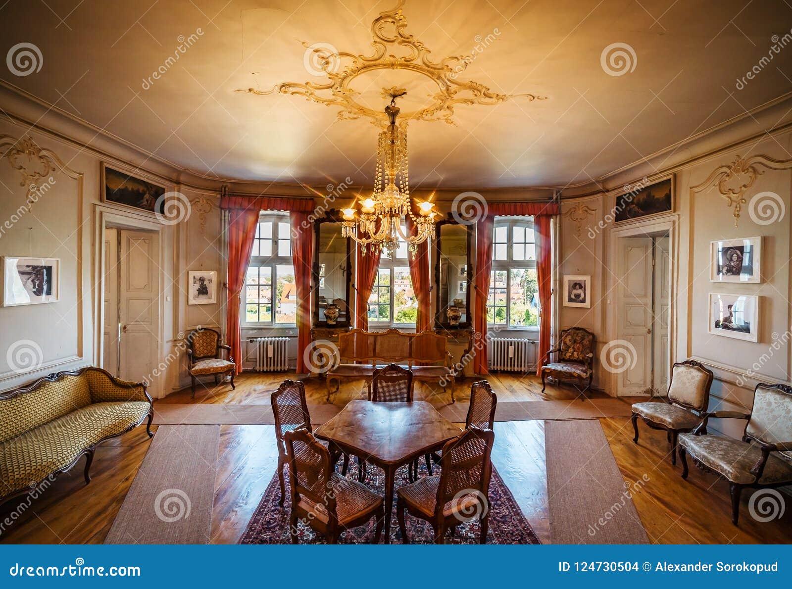 Beautiful Rich Classic Interior Of Xix Century Editorial Stock Image Image Of Interior Beautiful 124730504