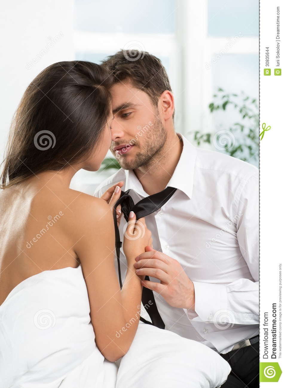 Beautiful Romantic Couple Of Lovers Stock Images - Image 30835644-1046