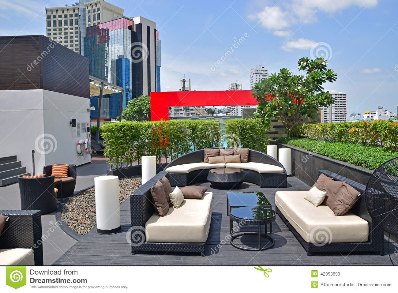 Beautiful Rooftop Settings For Relaxation And Recreational