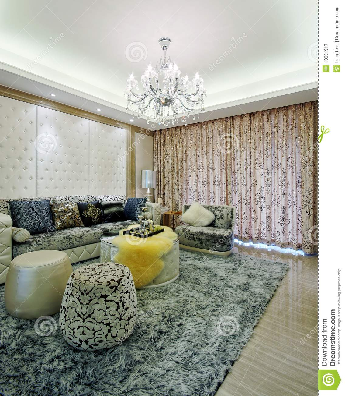 Beautiful room decoration royalty free stock photography for Beautiful room decoration