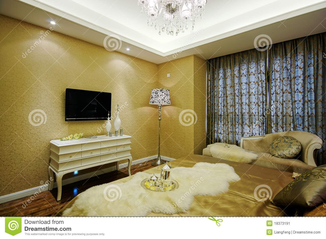 Beautiful room decoration stock image image 18373191 for Beautiful room decoration