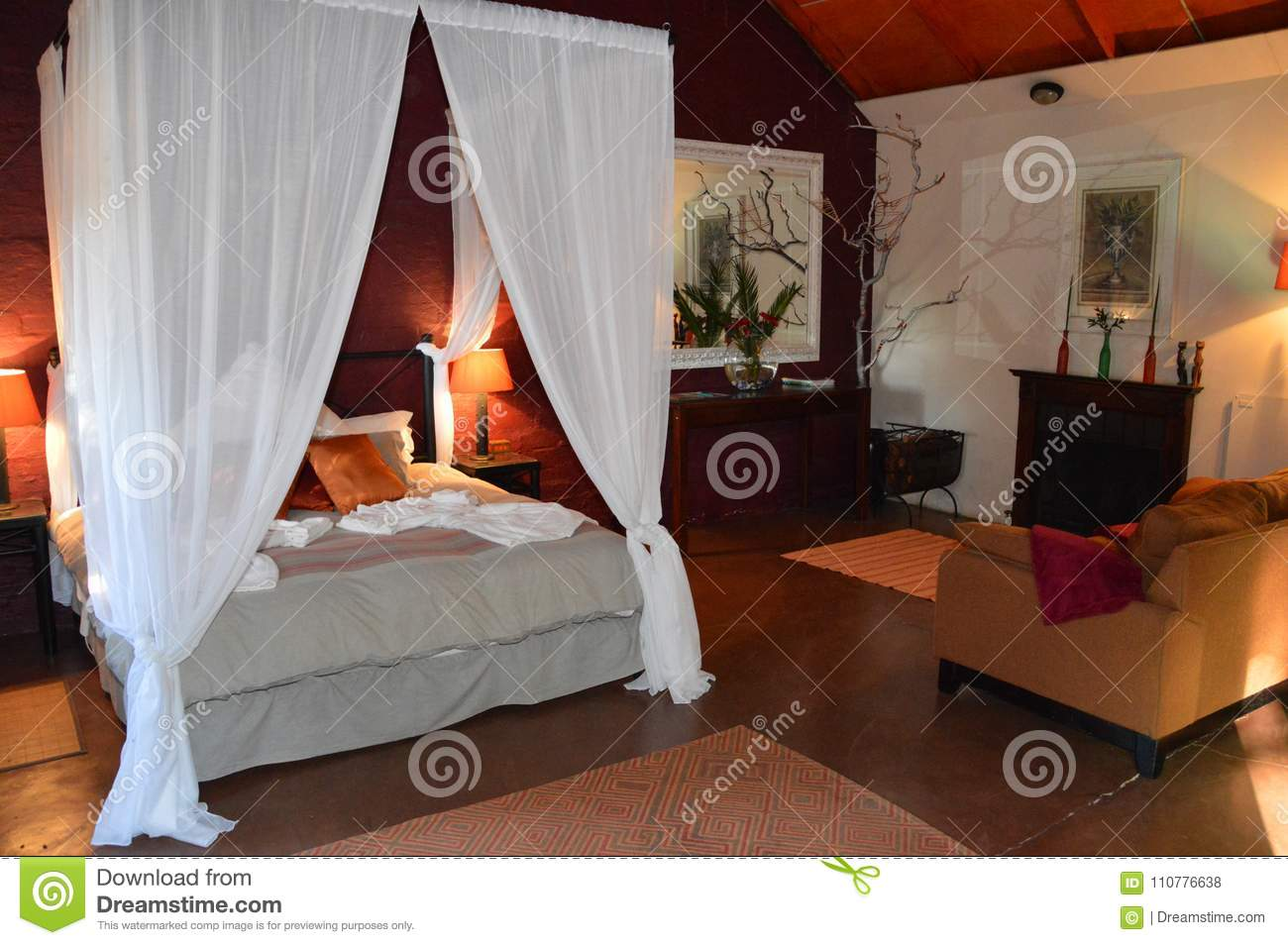 Beautiful Room Decoration In South Africa Stock Photo Image Of Colourful Young 110776638