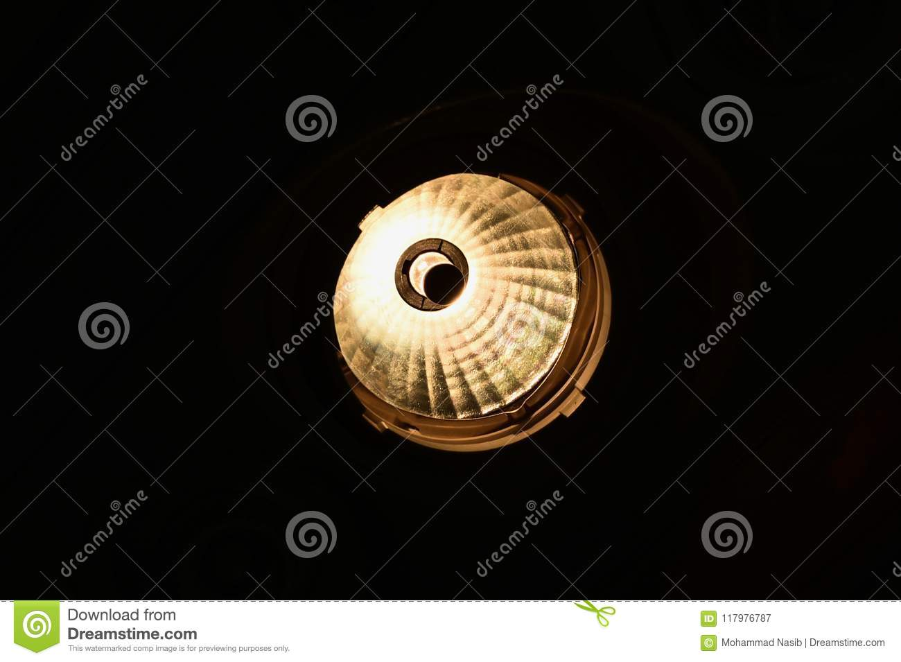 Download Beautiful Round Shape Interior Lights Unique Photo Stock Image - Image of lighting, isolated: 117976787