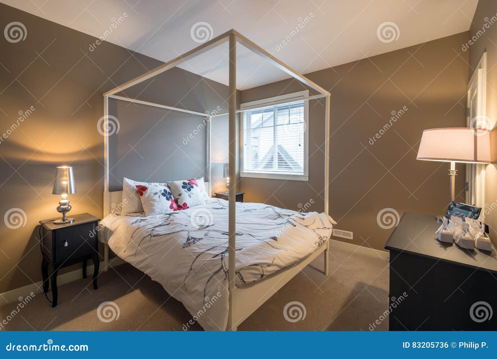 Beautiful Rustic Bedroom Interior Design Stock Photo Image Of Furnished Rustic 83205736