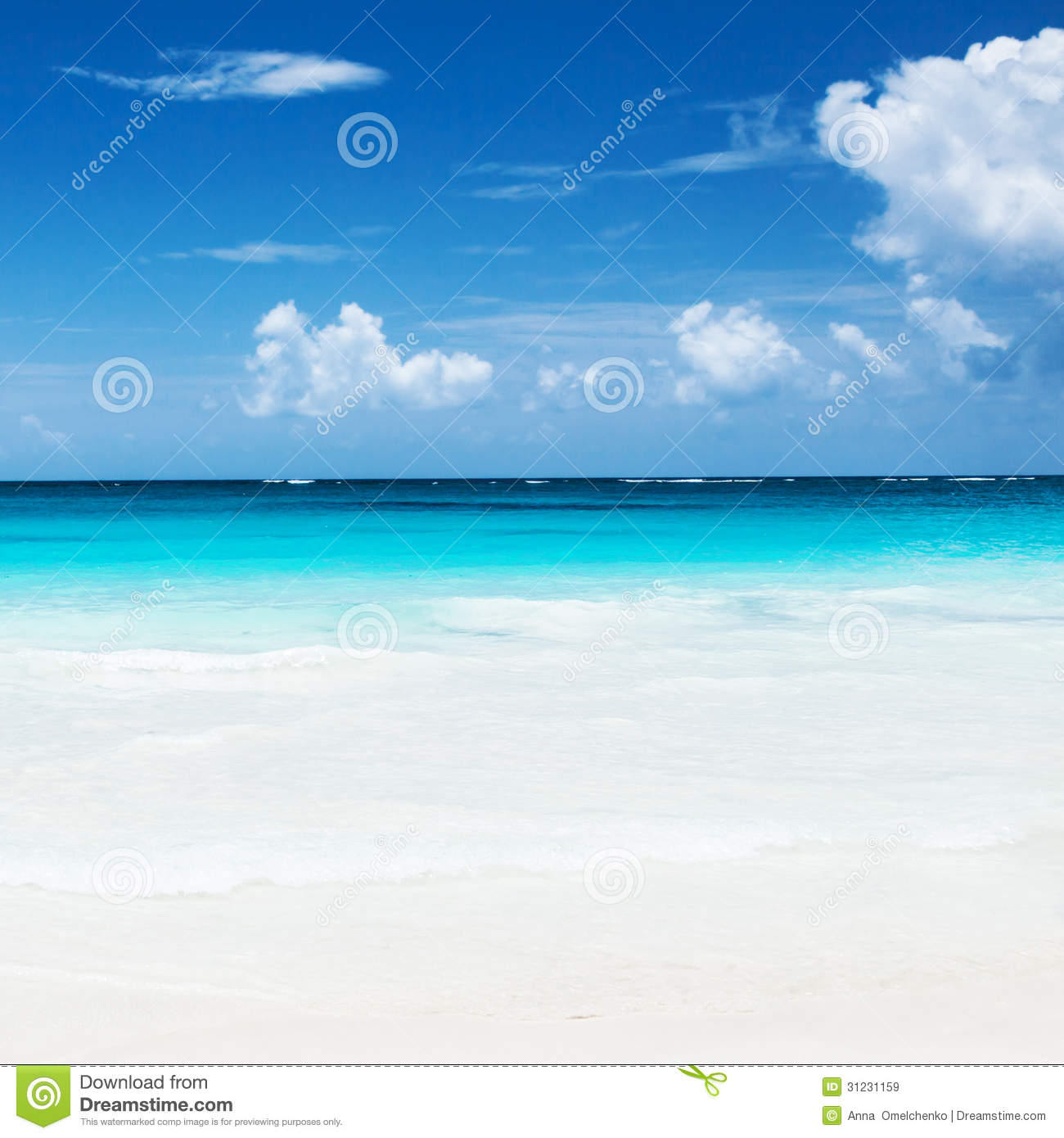 Sandy Beach: Beautiful Sandy Beach Royalty Free Stock Images