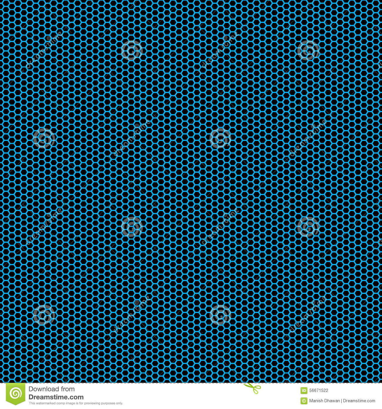 Beautiful Seamless Aqua Green Hexagon Pattern On Dark Base Scaled At Any Size And Used For Wallpaper Files Web Page Blog Surface Textures