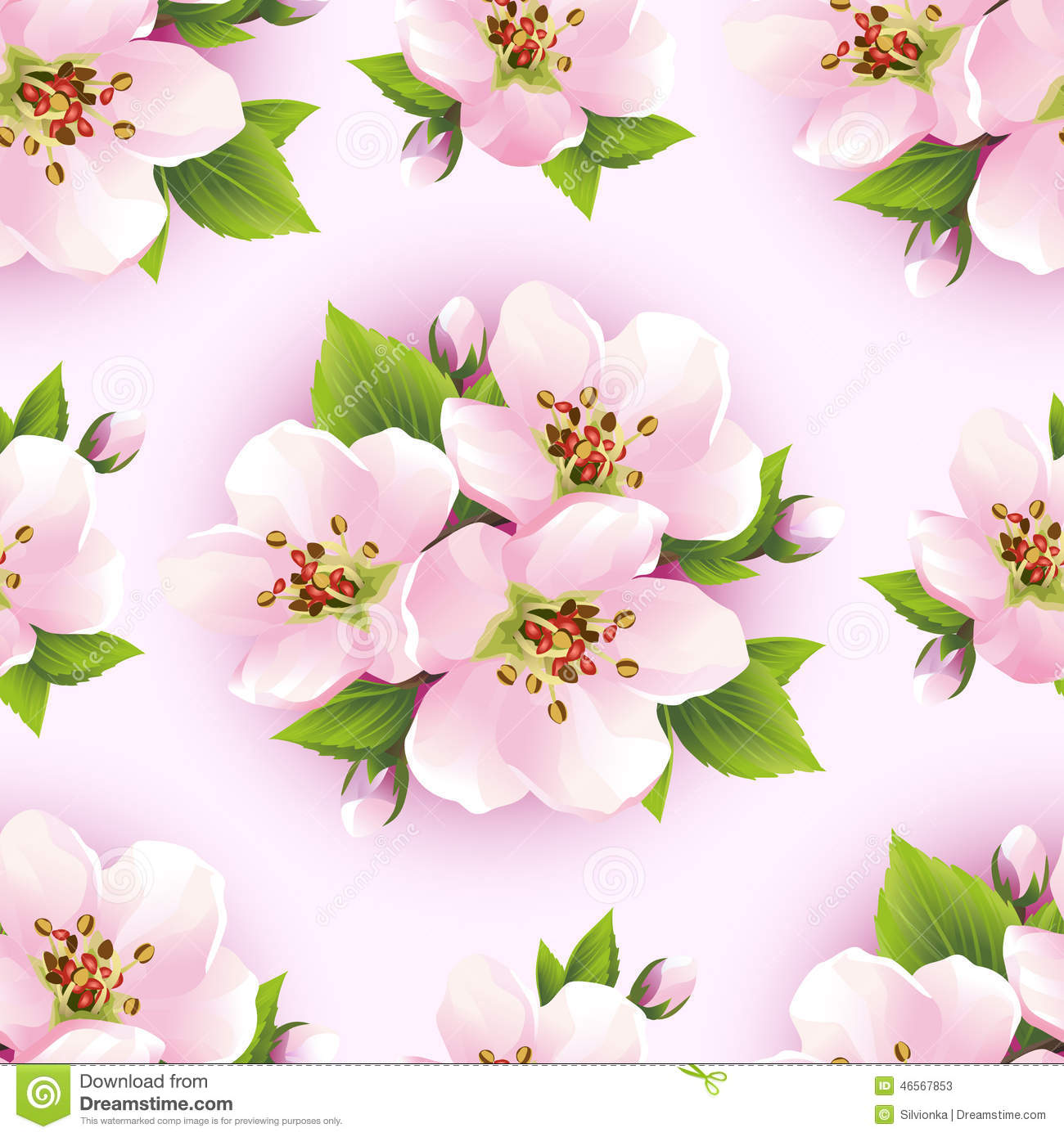 Pink Sakura Flower Wallpaper