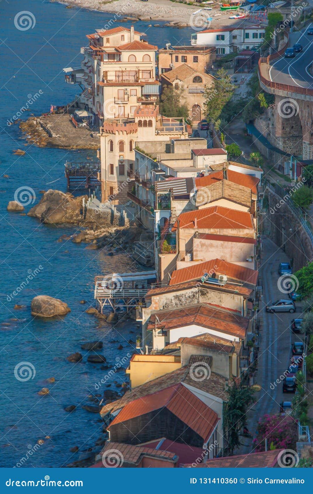 The beautiful seaside village of Scilla, Italy