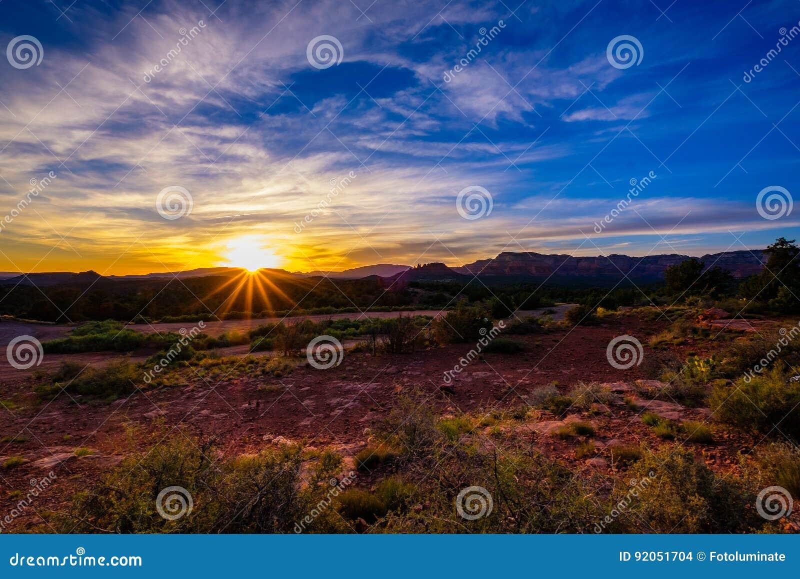 Beautiful Sedona Sunset