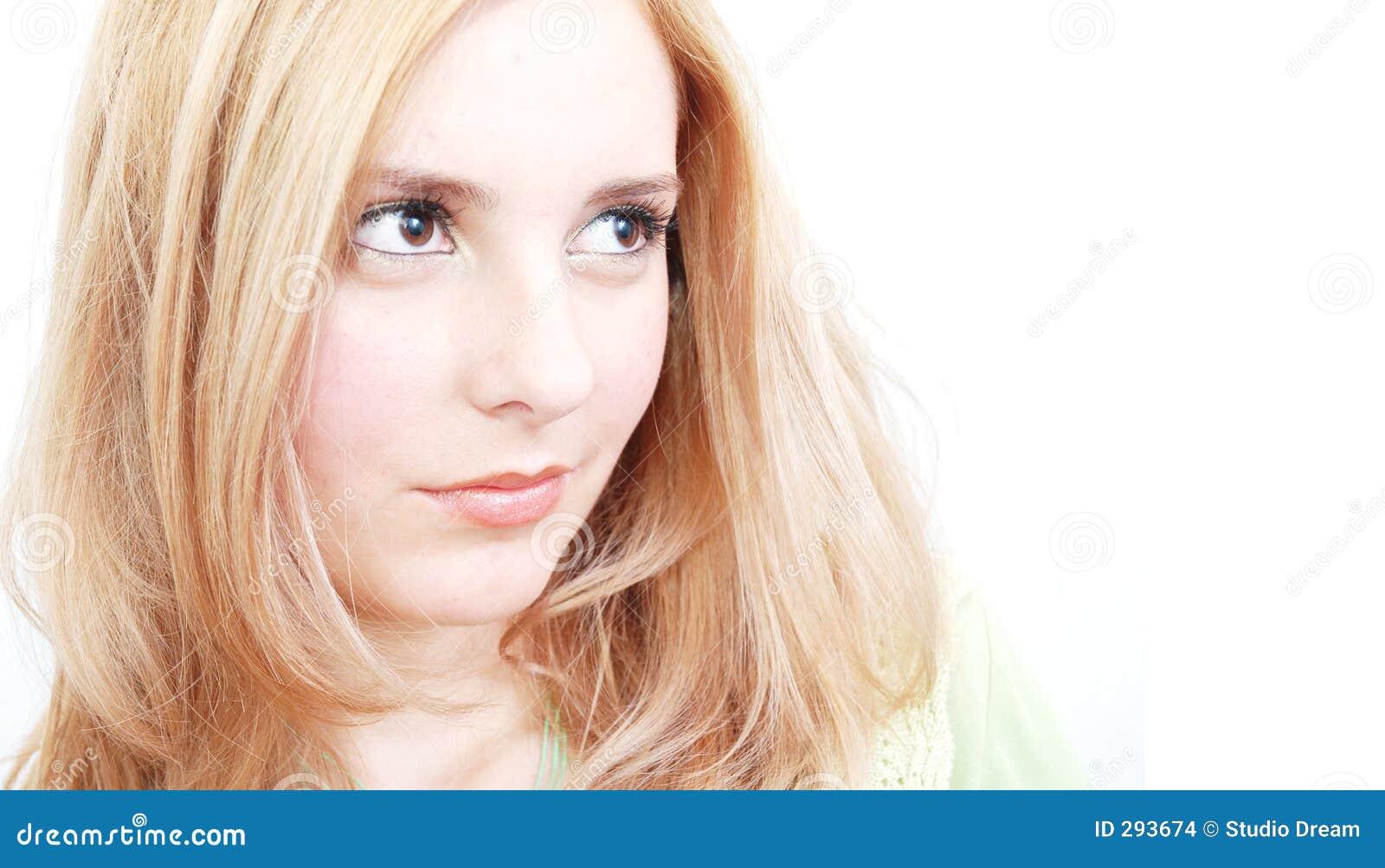 Beautiful self-confident woman
