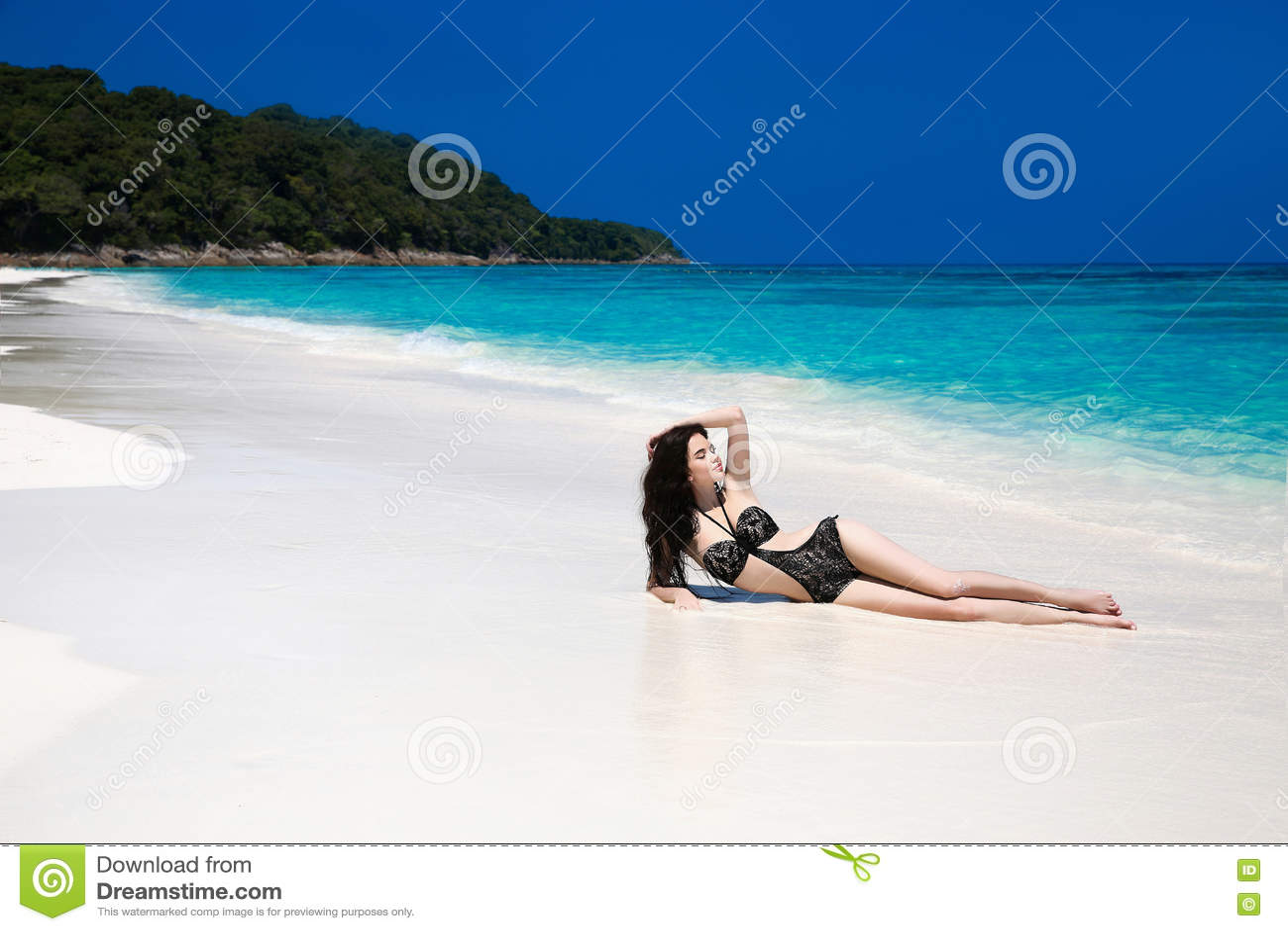 Bikini Brunette Girl In - Porn Pictures-3862