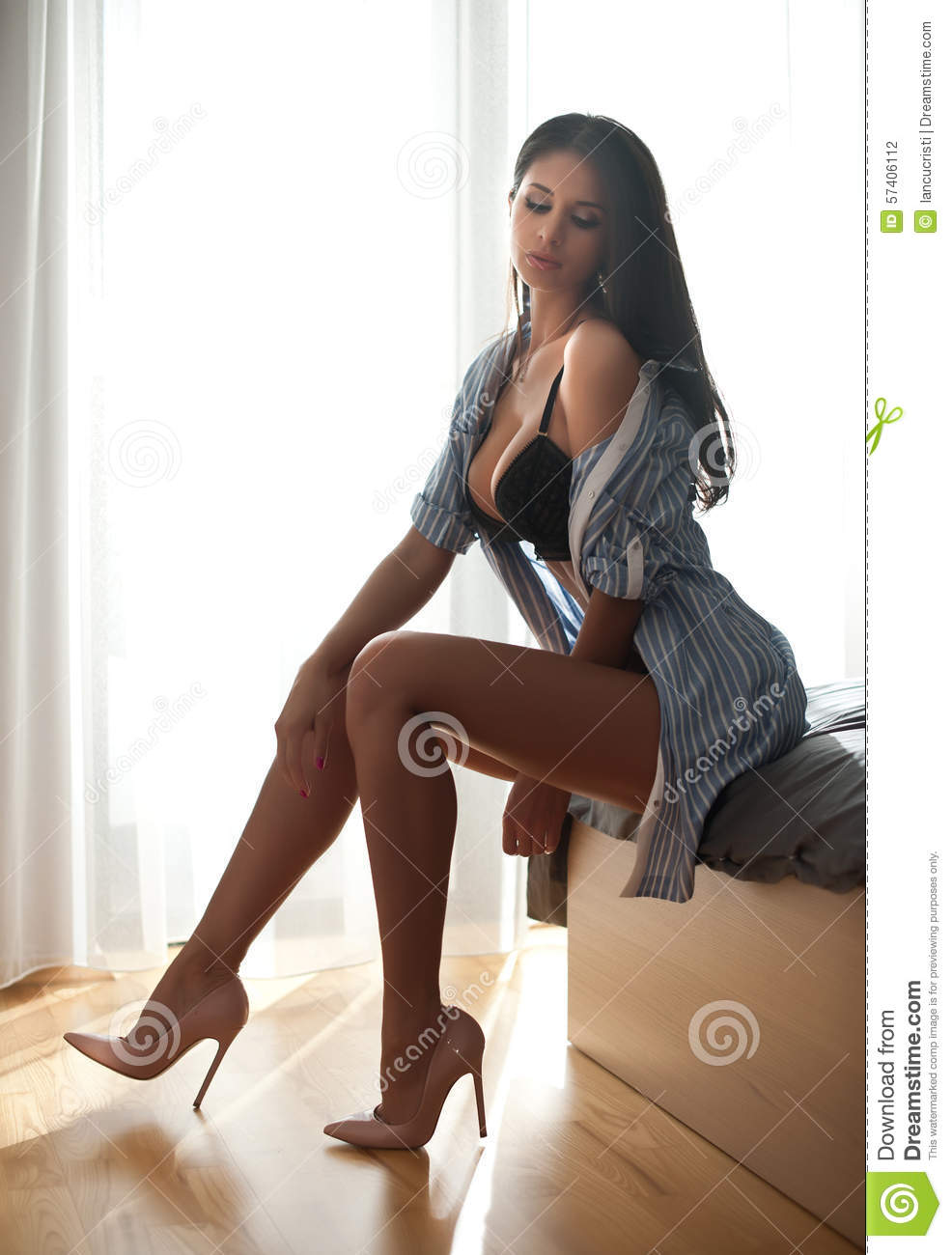Excellent words hot brunette women in lingerie are