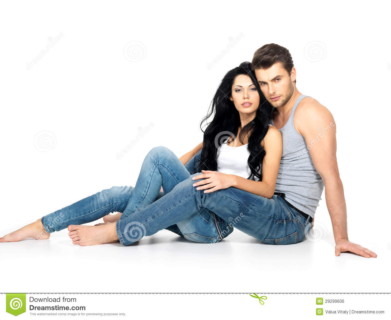 Beautiful Couple In Love Stock Photo Image Of Attractive - 29299606-6284