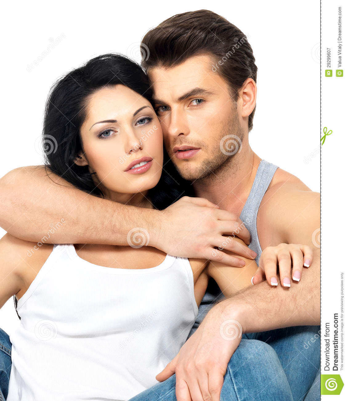 beautiful sexy couple in love royalty free stock photography   image 29299607