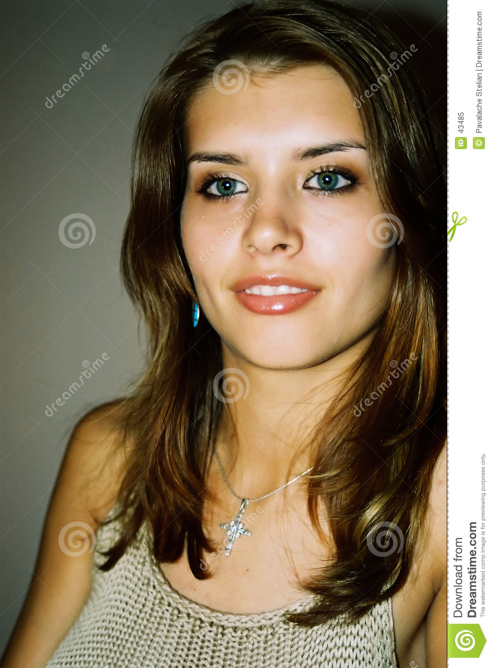 Beautiful And Girl Smiling