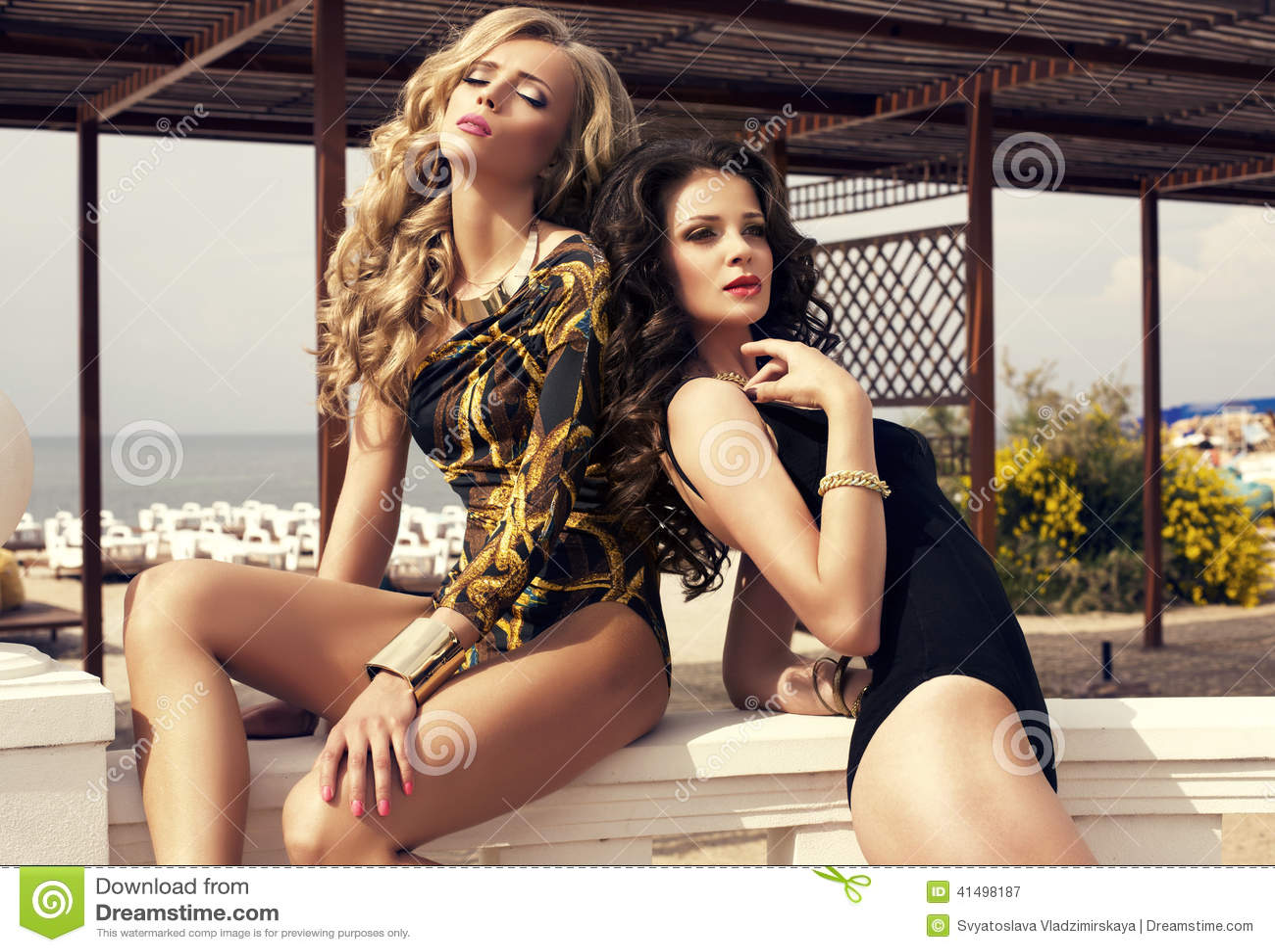 Beautiful girls sexy glamour opinion you