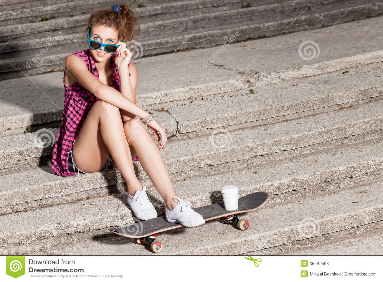 Opinion you young girl spreads legs on stairs