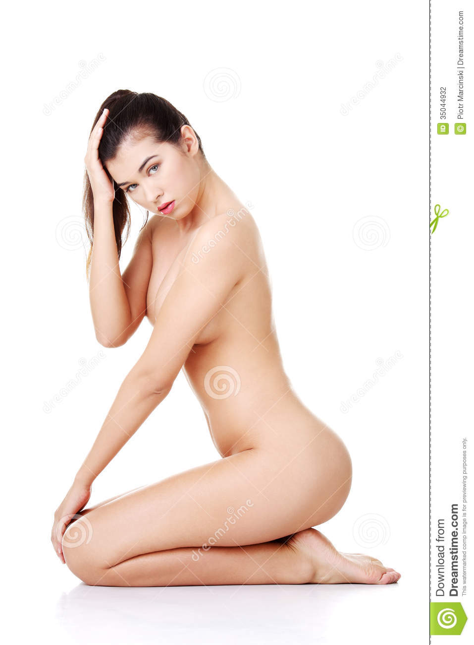 girl sitting on scanner nude