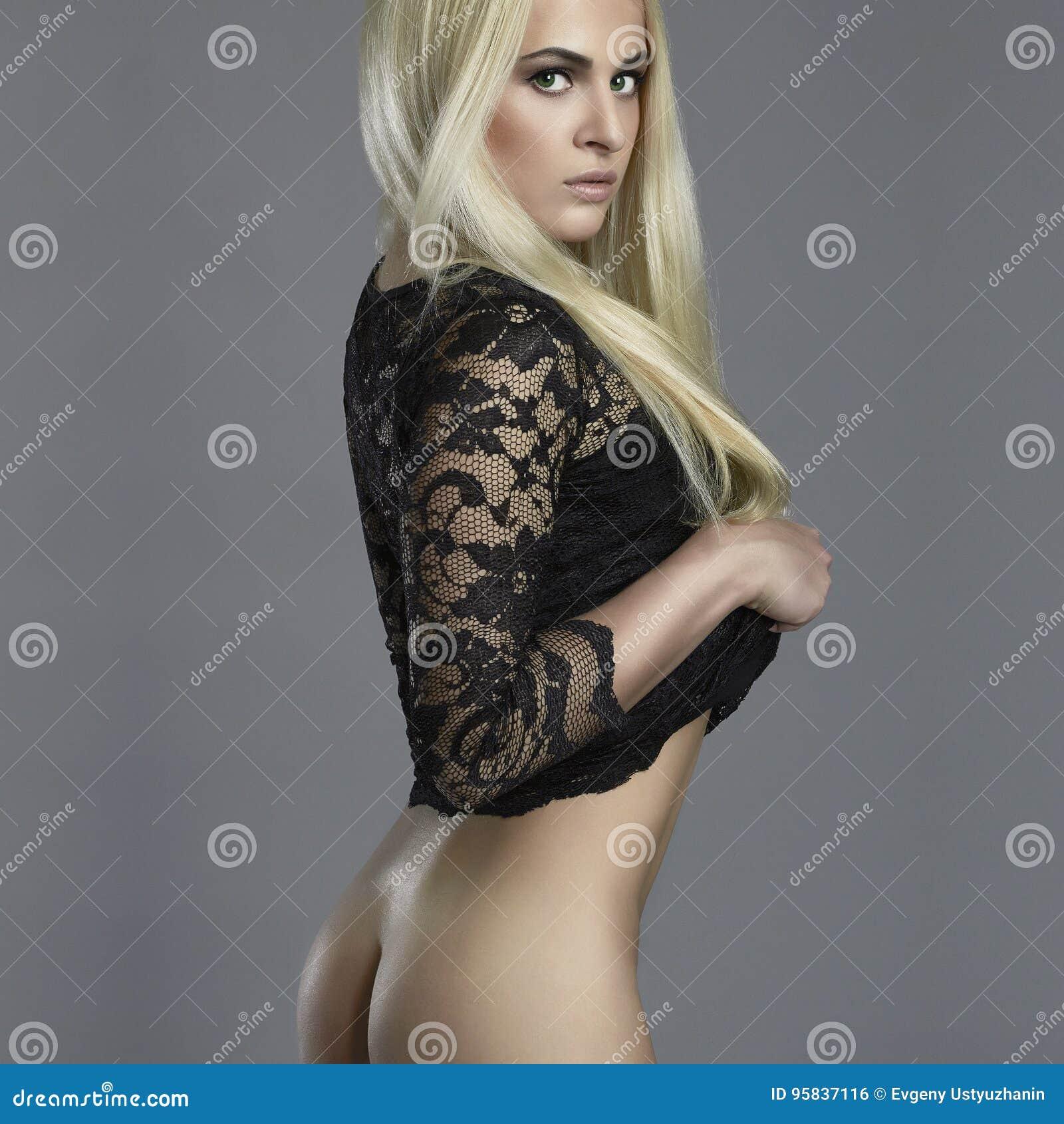 Nude Booty beautiful woman. nude booty girl stock photo - image of body