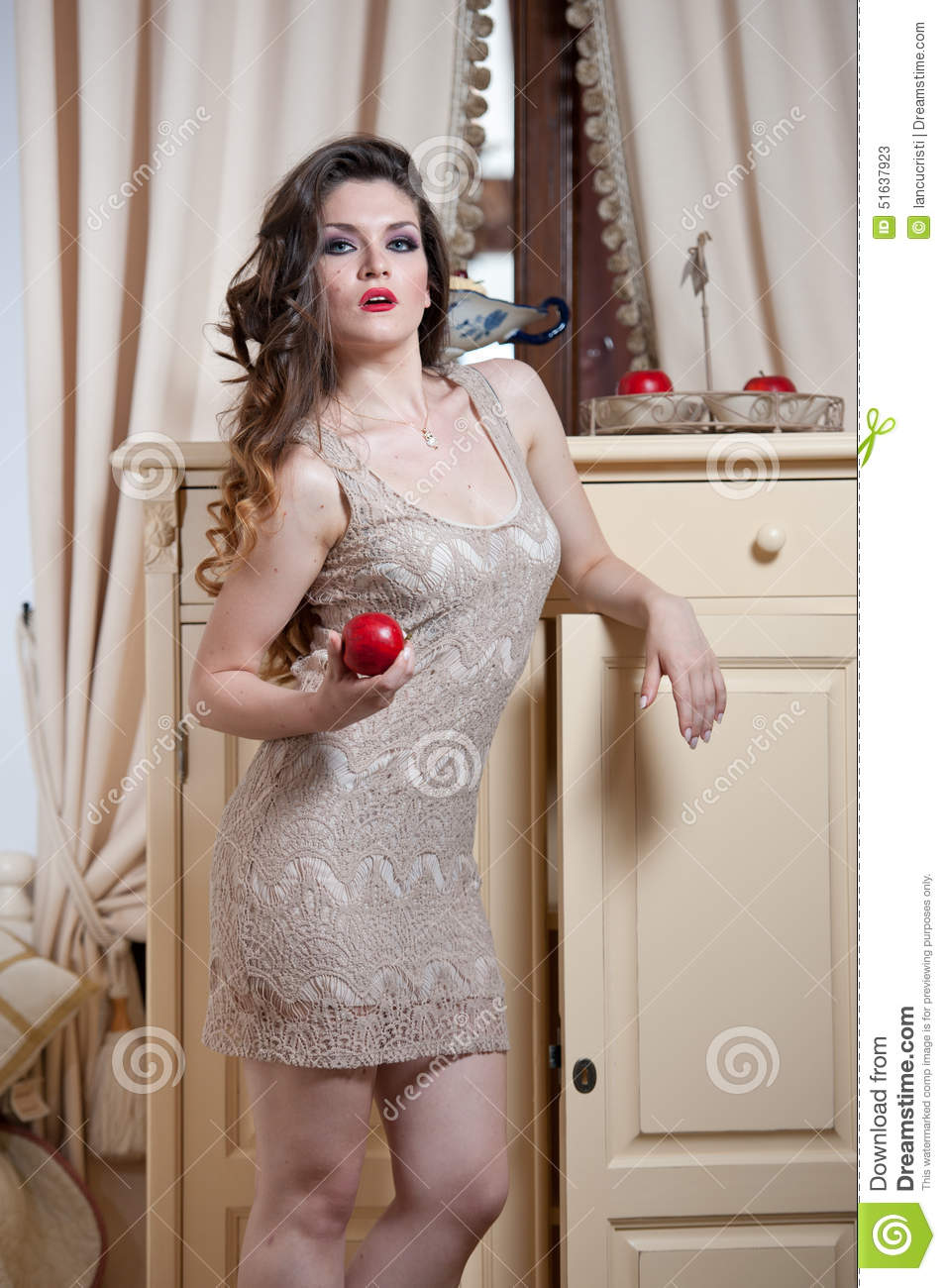 Nude Red Hair Woman 43