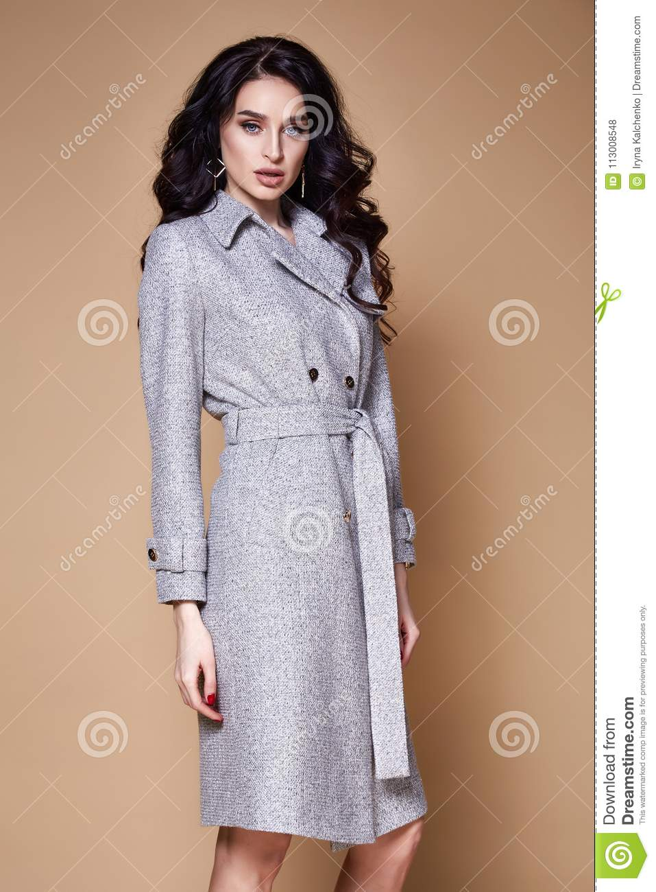 c5ad9414514ede Beautiful Woman Wear Business Style Clothing For Office Cas Stock ...