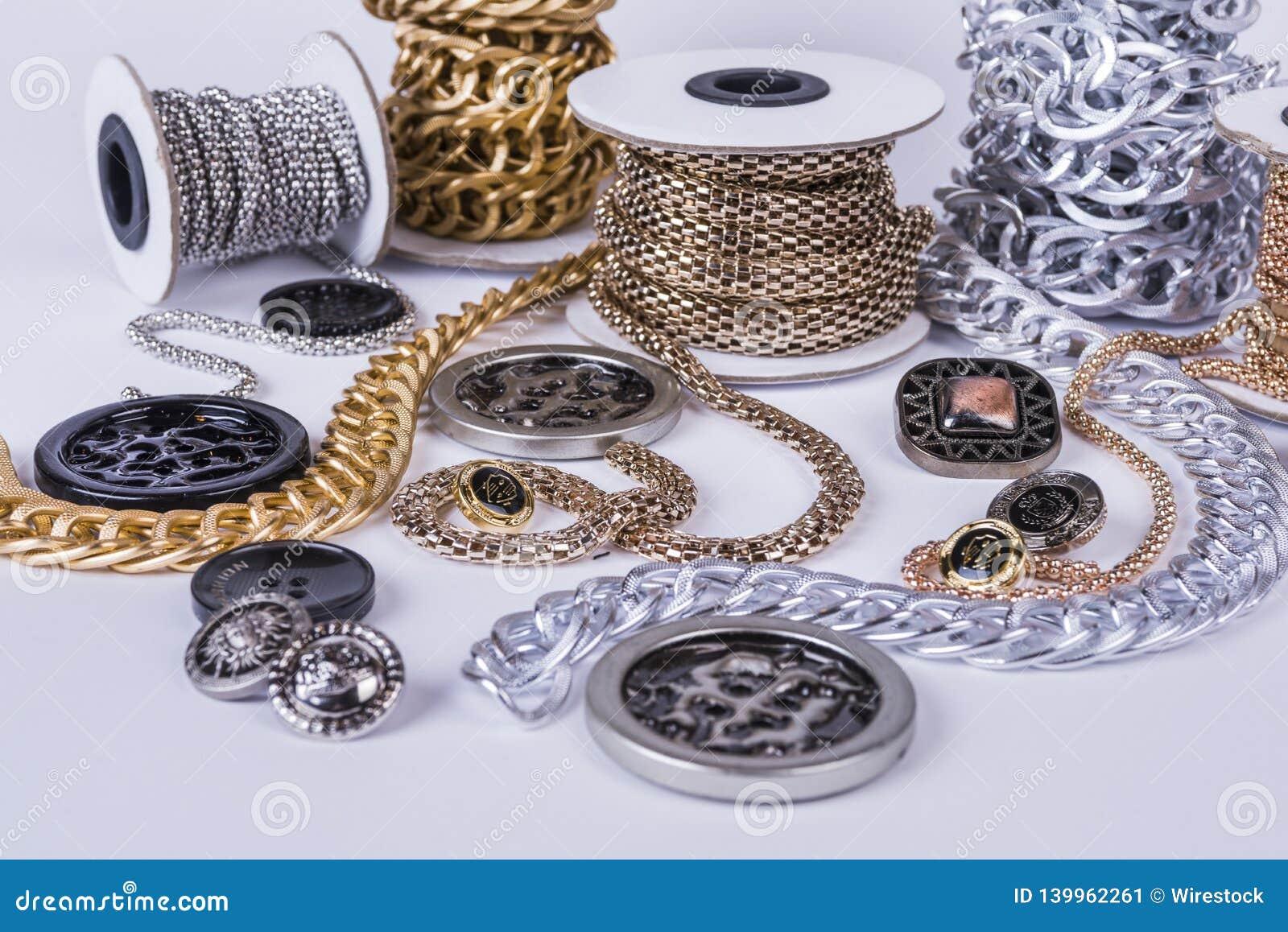 Beautiful shiny chains