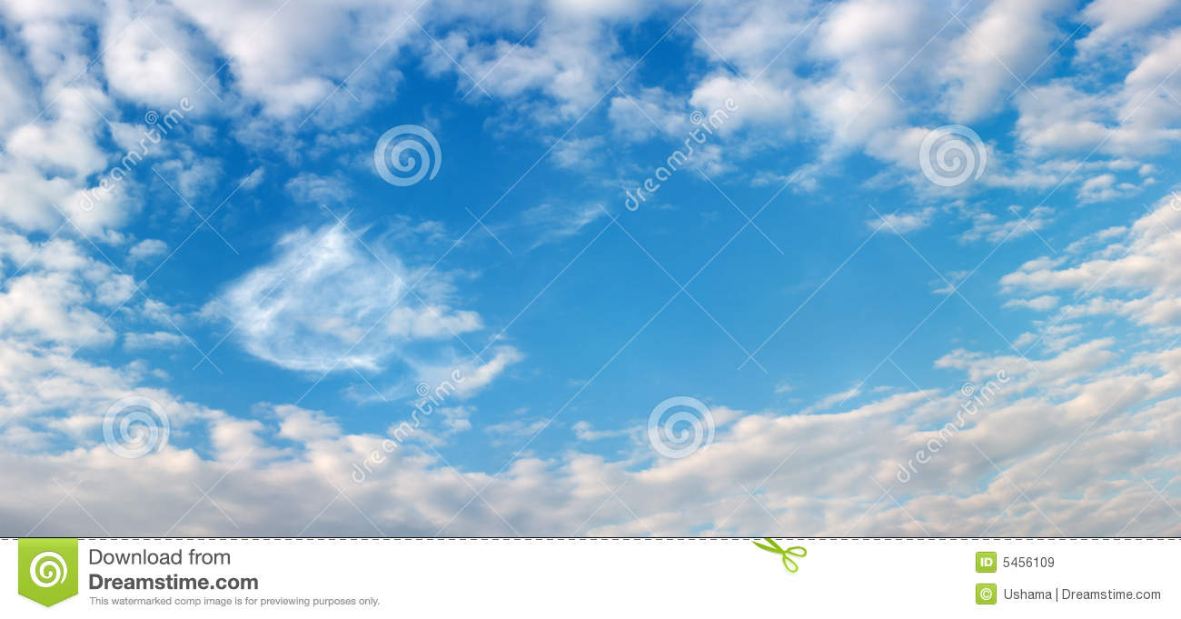 beautiful sky and clouds frame