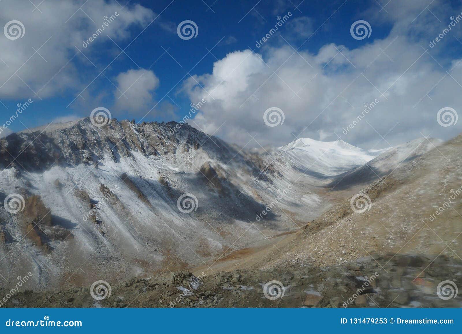 Beautiful Winter Season In Leh Ladakh, India Stock Image