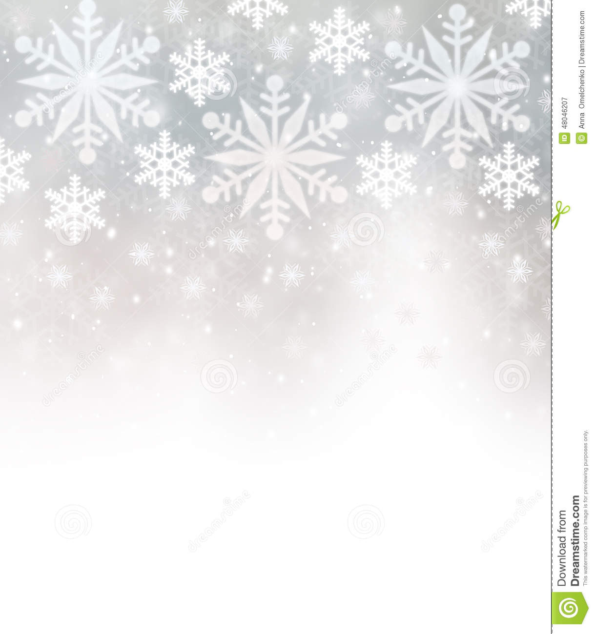 beautiful snowflakes border stock illustration image snowflake border clip art free snowflake border clipart black and white