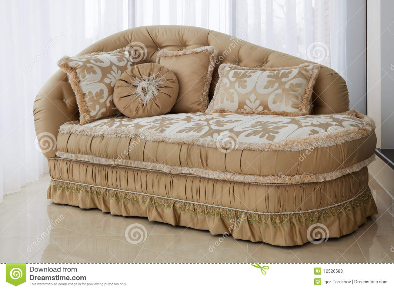 Beautiful sofa stock photos image 12526583 - Pics of beautiful sofa ...