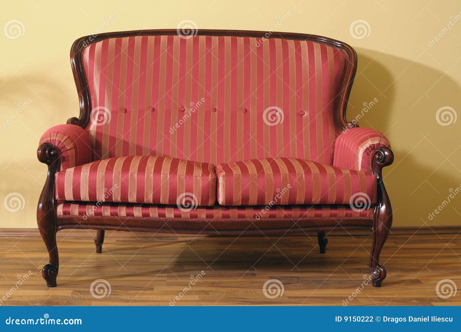 beautiful sofa isolated in modern room