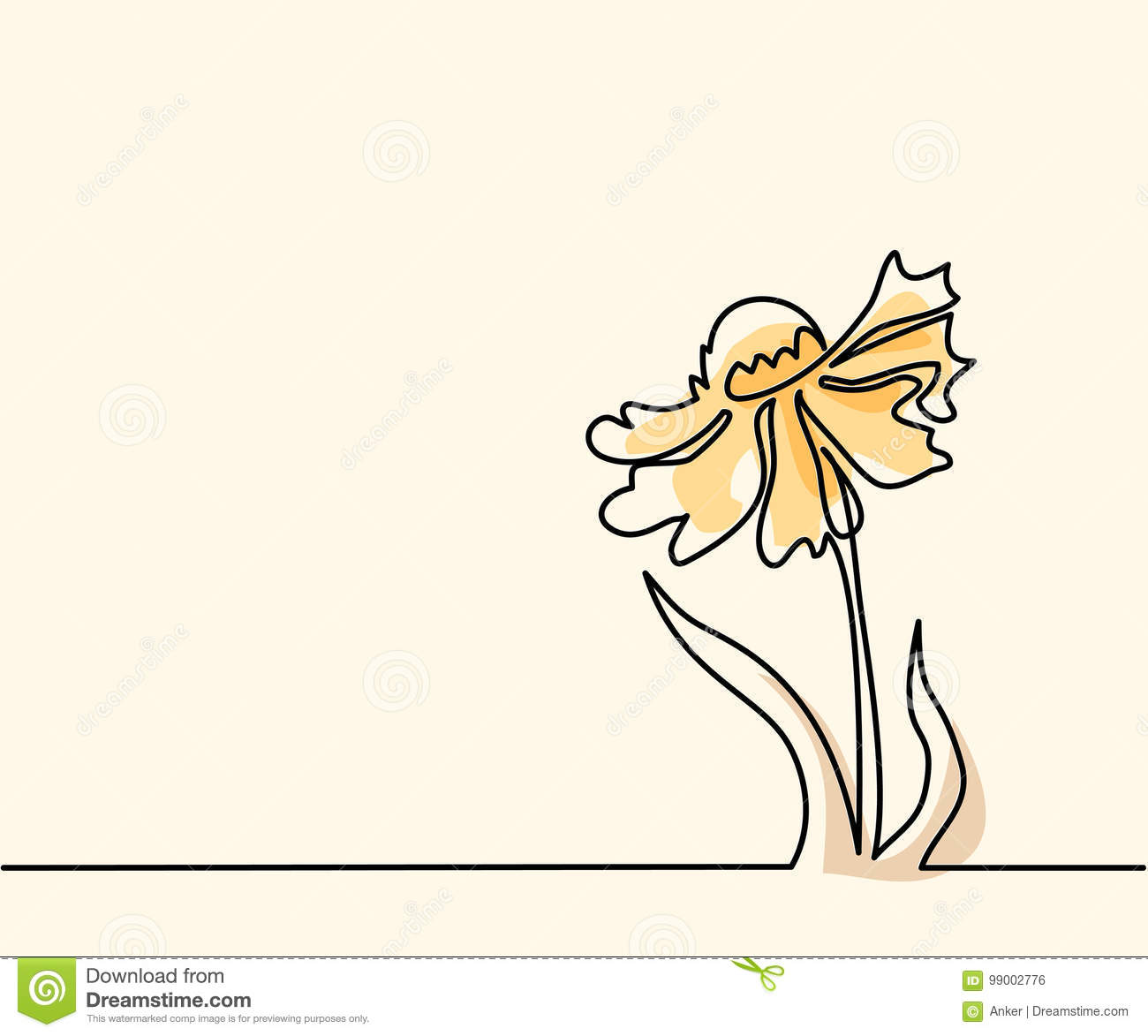 Drawing Of Beautiful Flower Stock Vector Illustration Of Graphic