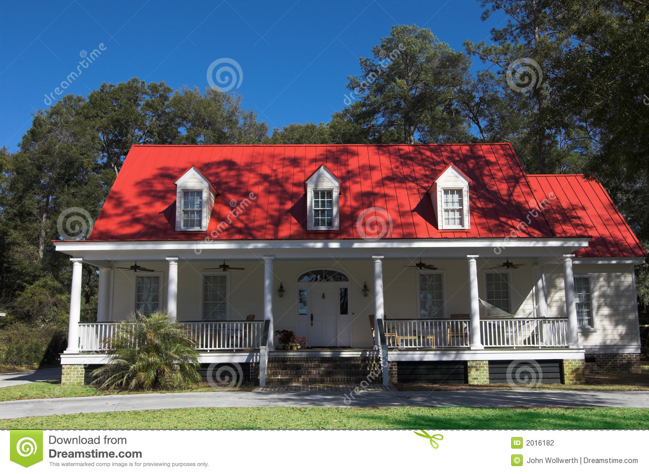 Beautiful Southern Home Stock Photography Image 2016182