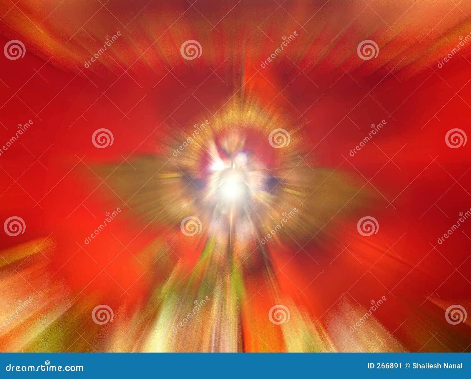 Beautiful spiritual light