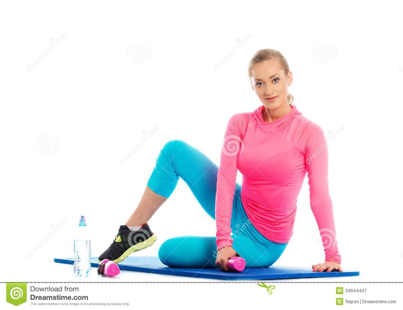 Beautiful Sport Girl Royalty Free Stock Photography