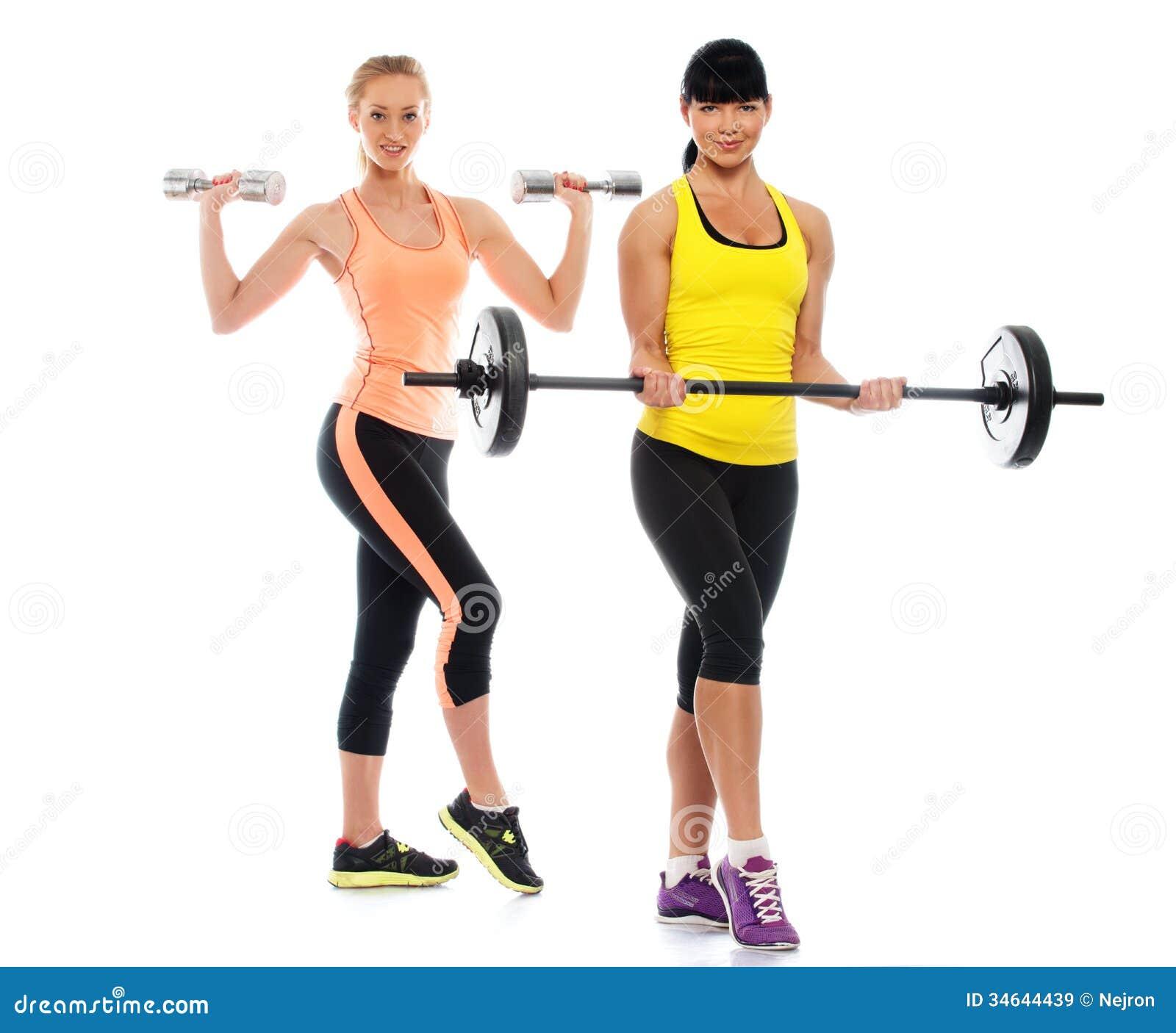 Фитнес девушка в белом 4 фотография