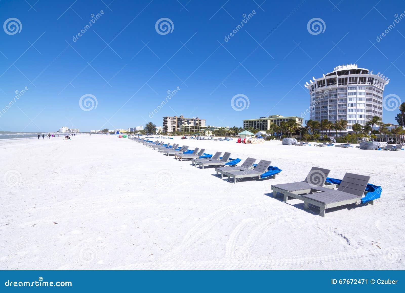 St Pete Beach White Sand Florida