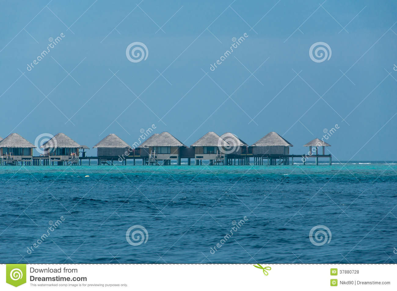 Royalty Free Stock Photos Beautiful Stunning Water Bungalow Sea Maldives Image37880728 on french cottage house plans