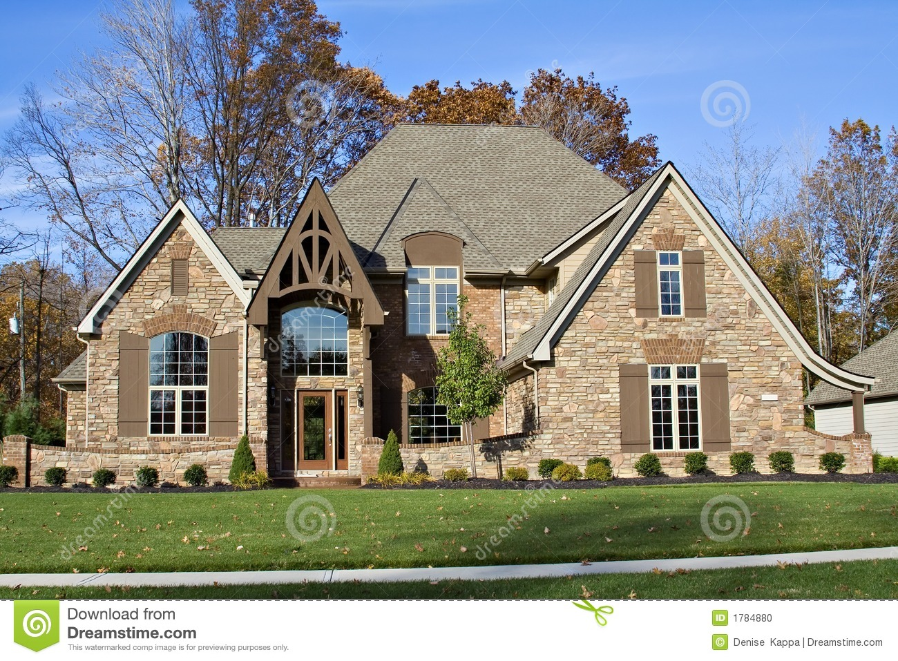 Beautiful suburban house stock photo image 1784880 for Houses in united states